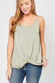 Entro Draped Knot Camisole - Product Mini Image
