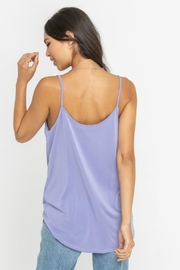 Lush  Draped Knot Front Tank - Side cropped