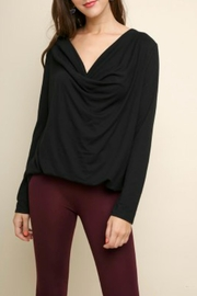 Umgee USA Draped Long Sleeve - Product Mini Image