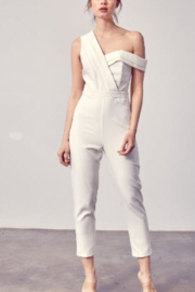 Do + Be  Draped One Shoulder Jumpsuit - Product Mini Image