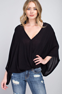 143 Story Drapey Crepe Top - Product List Image
