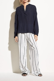 Vince Drapey Stripe Blouse - Product Mini Image
