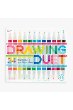 Ooly Drawing Duet Double Ended Markers: Set Of 24 - Product List Image