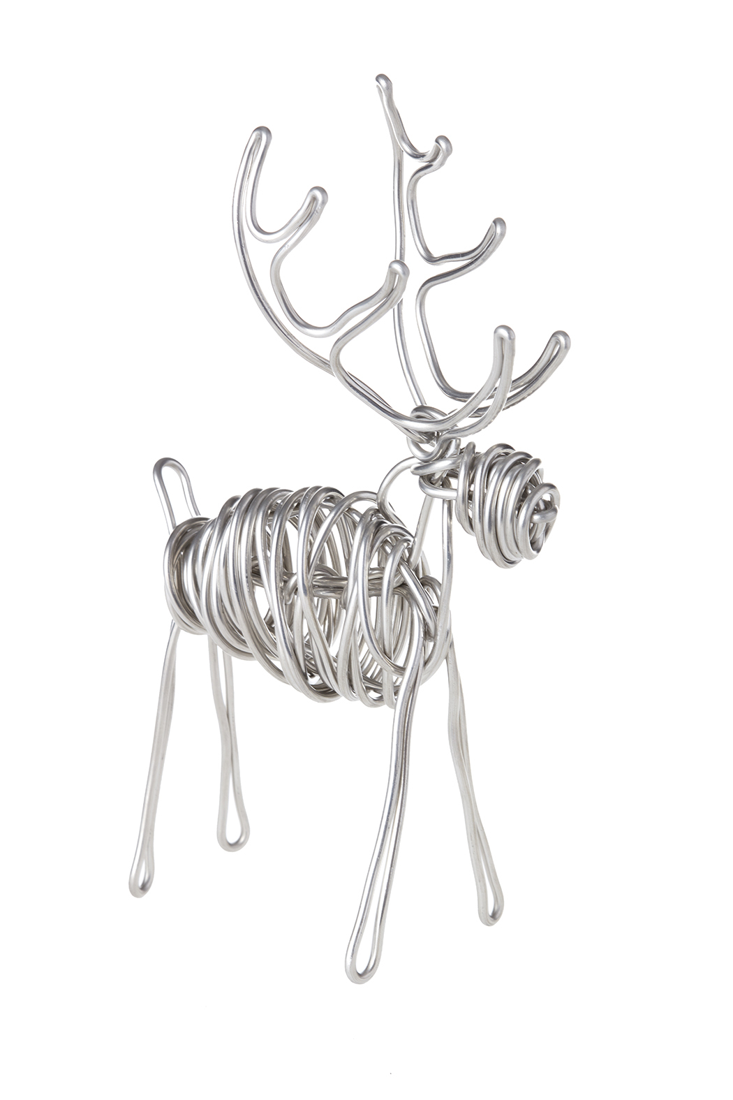 Drawn Metal Studios Deer Sculpture - Back Cropped Image