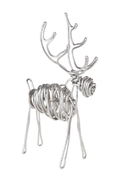 Drawn Metal Studios Deer Sculpture - Back cropped