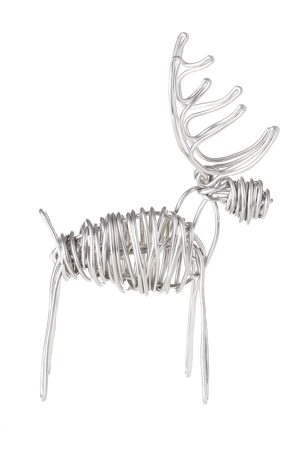 Drawn Metal Studios Deer Sculpture - Main Image