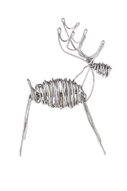 Drawn Metal Studios Deer Sculpture - Product Mini Image