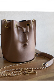 German Fuentes  Drawn to You Bucket Bag - Front cropped
