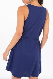 Others Follow  Drawstring Pocket Dress - Side cropped