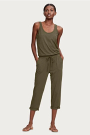 Michael Stars Drawstring Tank Jumpsuit - Product Mini Image