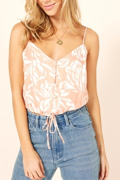 MINKPINK Drawstring Tropical Cami - Product List Image
