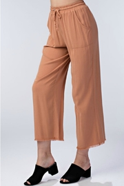 Honey Punch Drawstring Waist Pant - Side cropped
