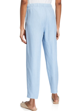 Eileen Fisher Drawstring Waist Tapered Ankle Pants Haze - Alternate List Image
