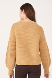 Free People  Dream Cable Crewneck Sweater - Side cropped