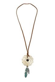 Dream Catcher Necklace - Product Mini Image