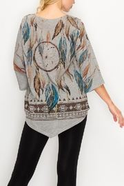 Origami Dream Catcher Tunic - Side cropped