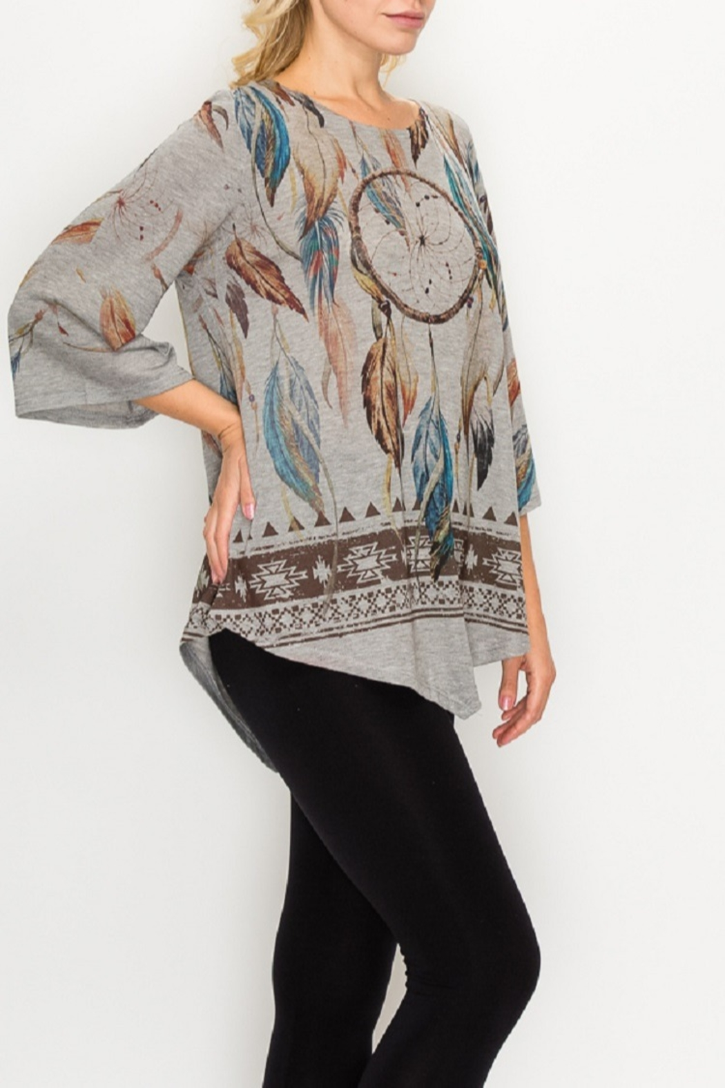 Origami Dream Catcher Tunic - Front Full Image