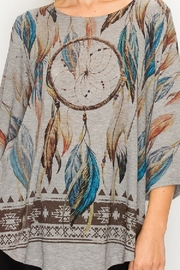 Origami Dream Catcher Tunic - Back cropped
