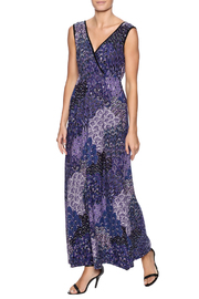 Dream Dance Peacock Maxi Dress - Product Mini Image