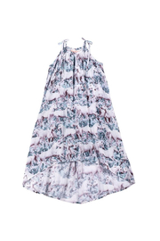 Paper Wings Dream Field Horse Maxi Dress - Front cropped
