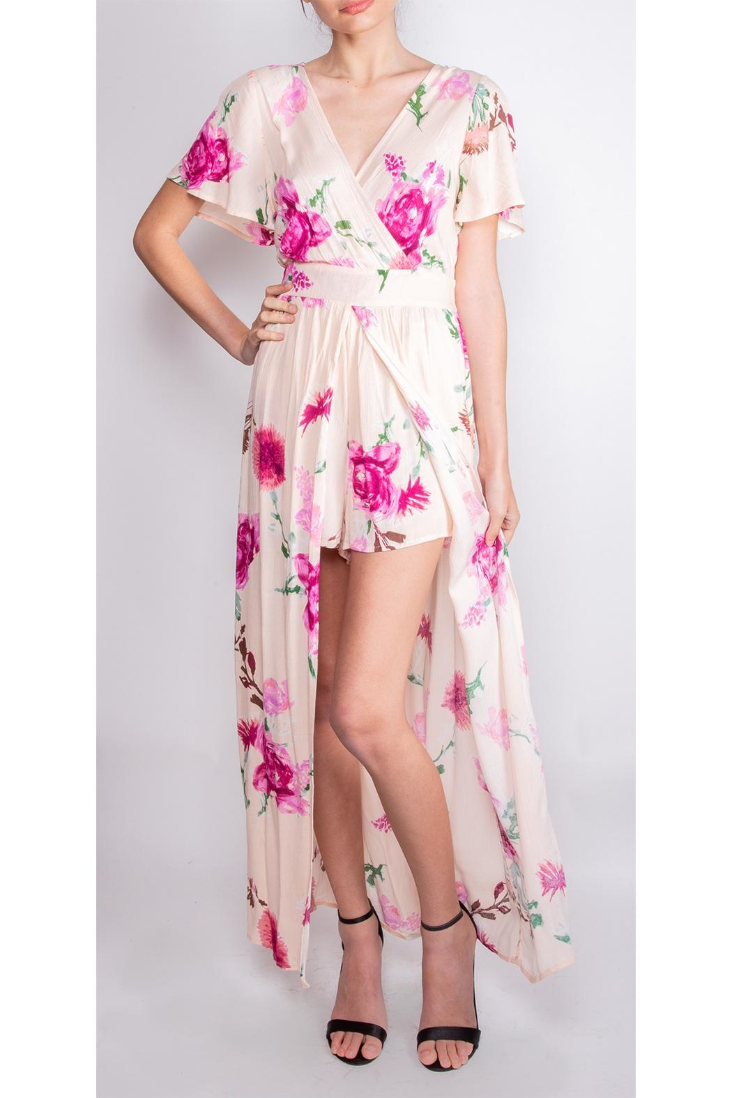 Illa Illa Dream Floral Romper-Dress - Main Image