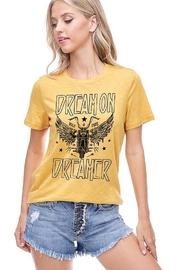 Zutter  Dream on Dreamer Graphic Tee - Product Mini Image