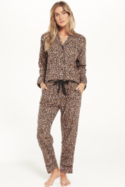 z supply Dream State Leopard PJ Set - Product Mini Image