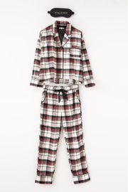 z supply Dream State Plaid PJ Set - Other