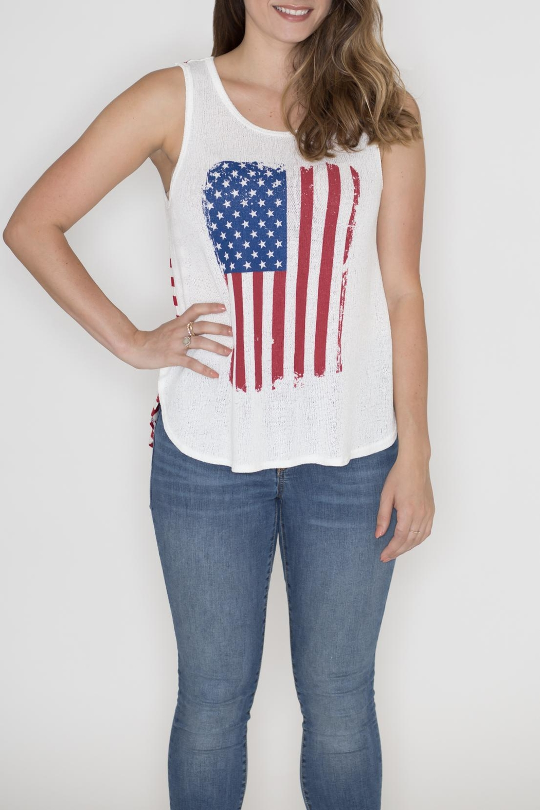 Dream Style American Flag Tank - Main Image
