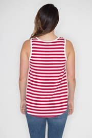 Dream Style American Flag Tank - Side cropped