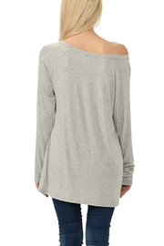Dream Style Be-Mine-Be-Wine Valentines Top - Side cropped
