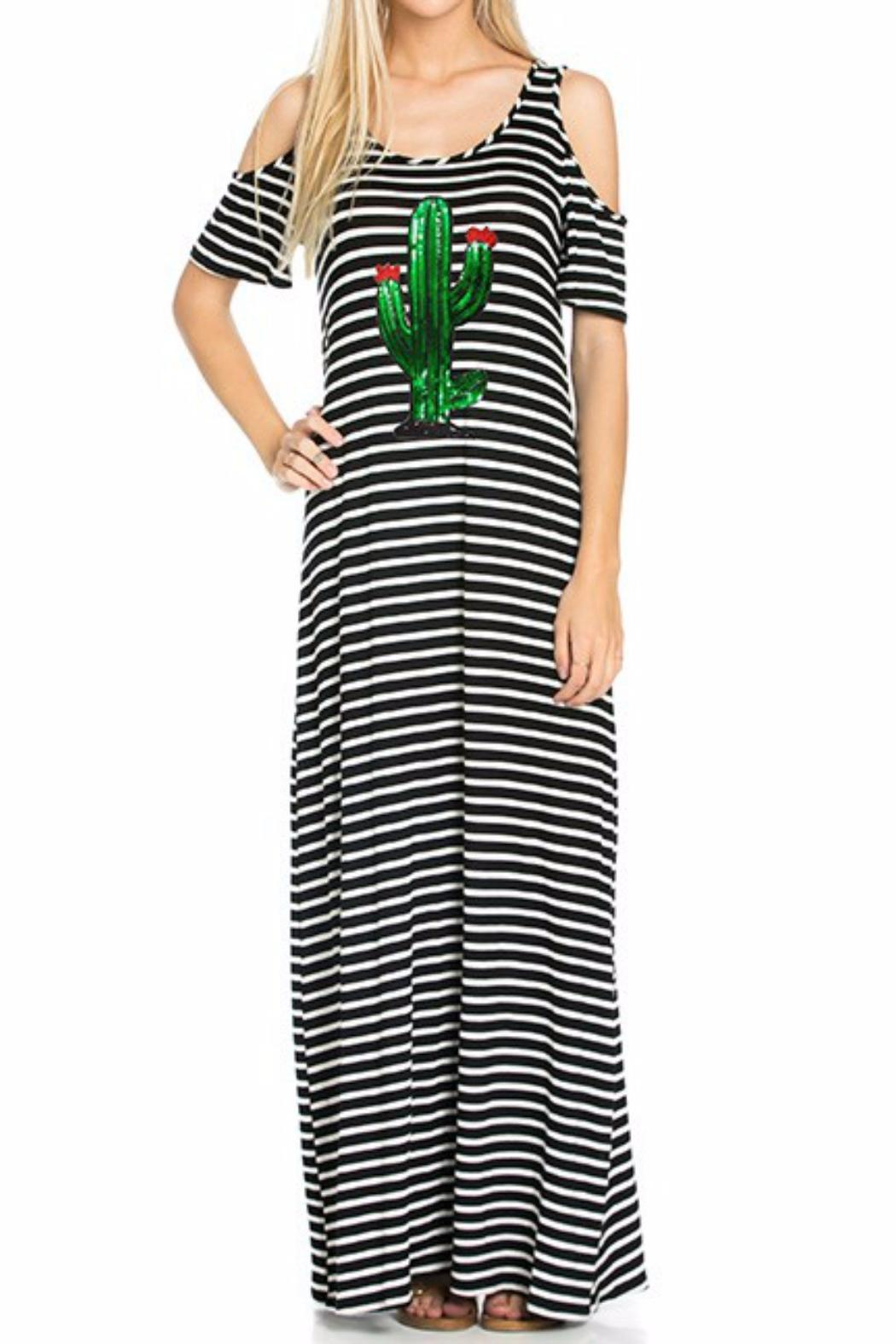 7b9dd4917b Dream Style Cactus Maxi Dress from Texas by Chili Peppers — Shoptiques