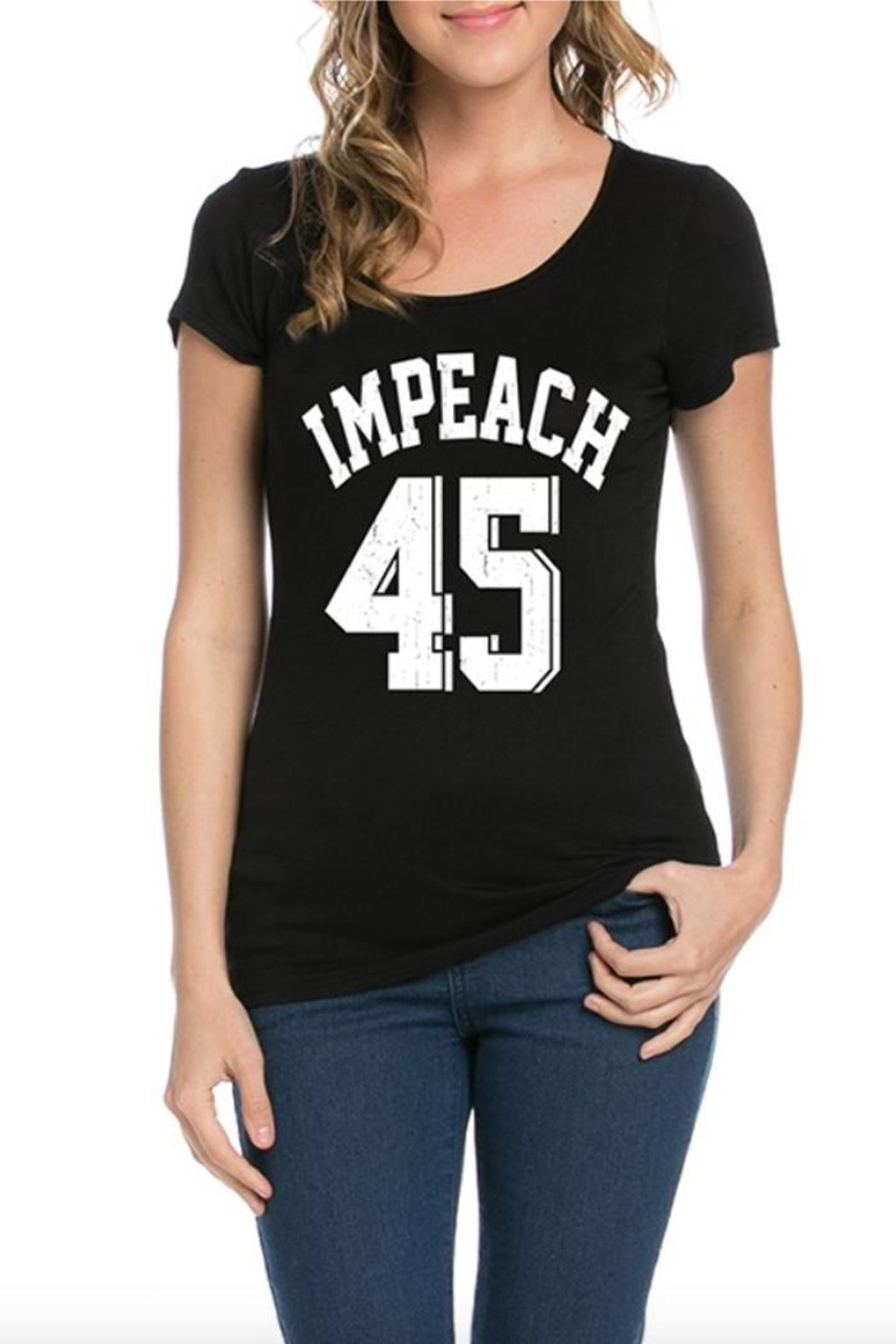 Dream Style Impeach 45 T-Shirt - Front Cropped Image