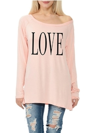 Dream Style Love Raglan - Front cropped