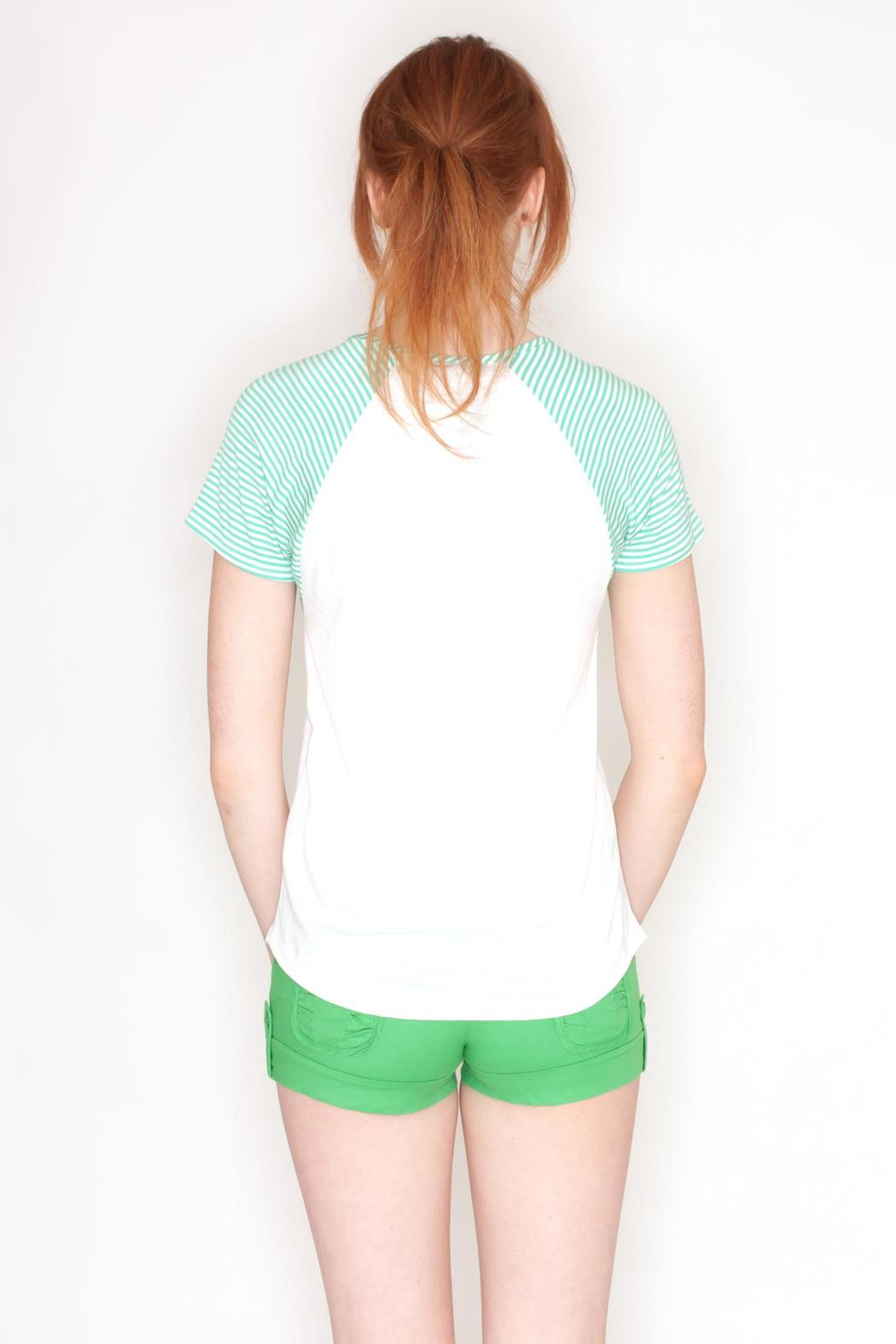 Dream Style St. Patrick's Raglan - Back Cropped Image