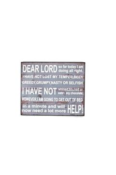 Shoptiques Product: Dear Lord Sign