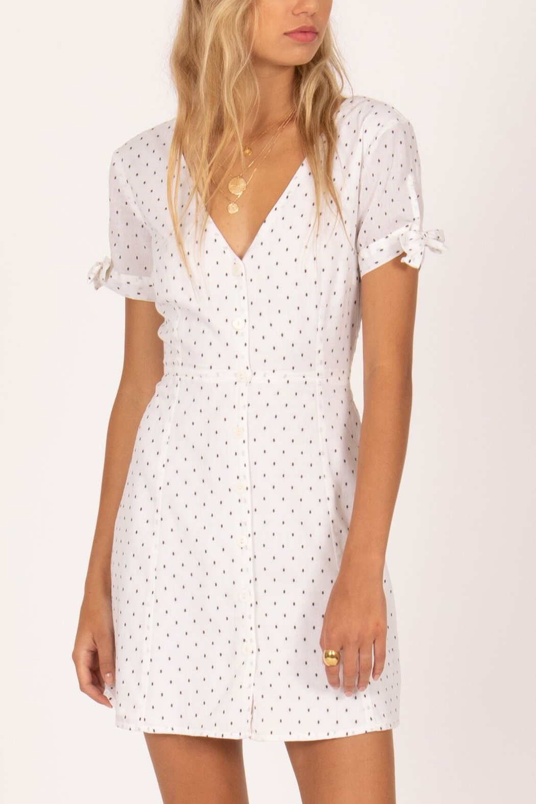 AMUSE SOCIETY Dreamboat Dress - Front Cropped Image