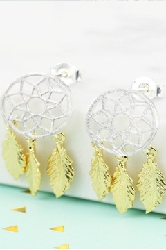 Pink Poodle Boutique Dreamcatcher Earrings - Alternate List Image
