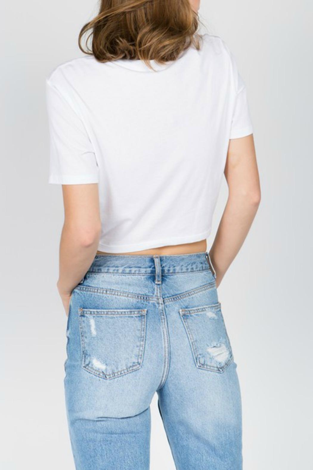 ALB Anchorage Dreamer Crop Tee - Front Full Image