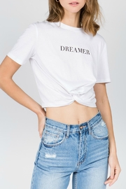 ALB Anchorage Dreamer Crop Tee - Front cropped