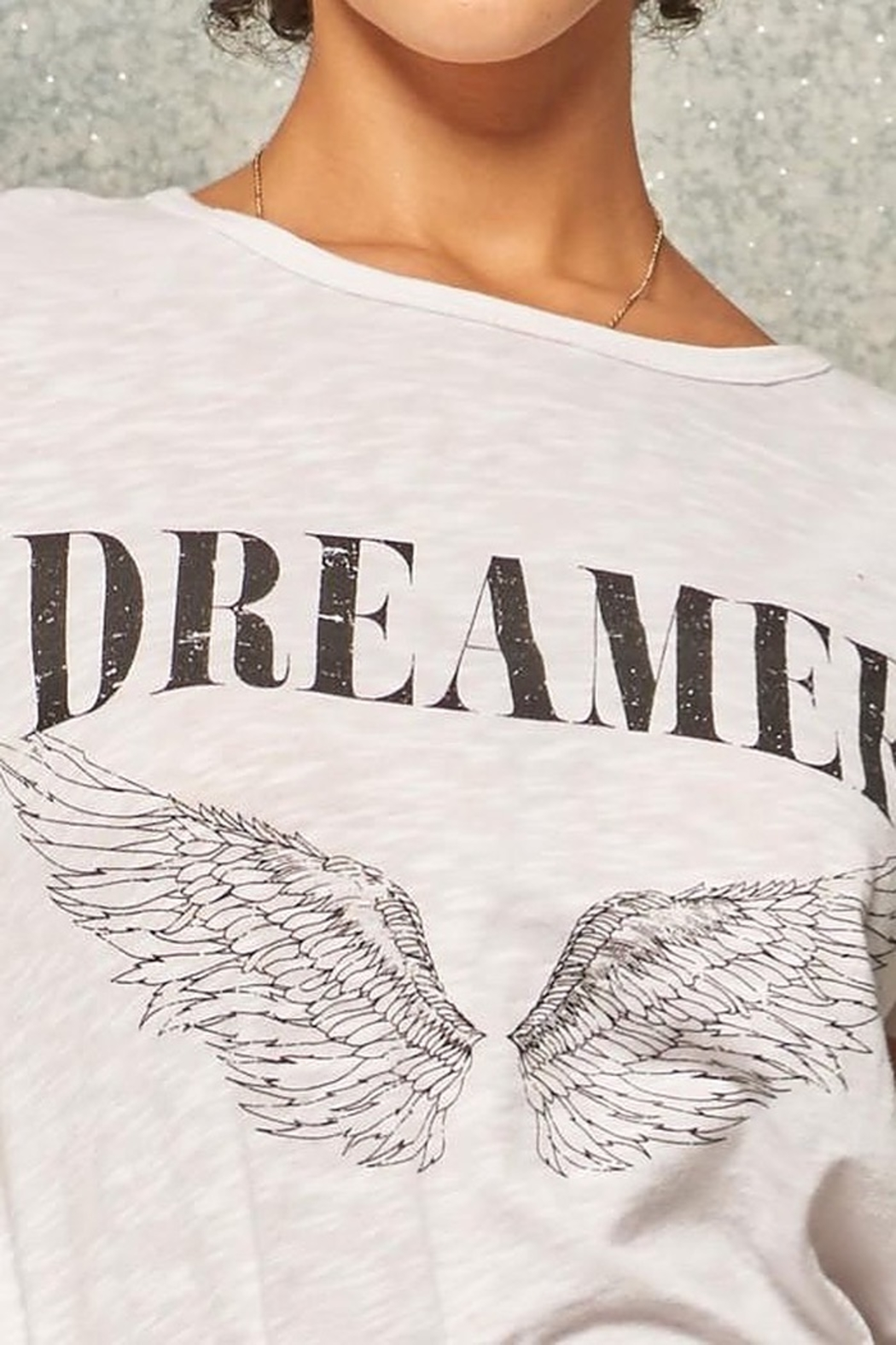 CRIV Dreamer Graphic Tee - Side Cropped Image