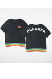 Tiny Whales Dreamer Rainbow top - Product Mini Image