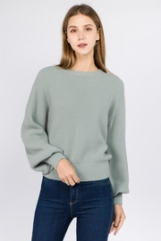 Dreamers Balloon Sleeve Sweater - Product Mini Image