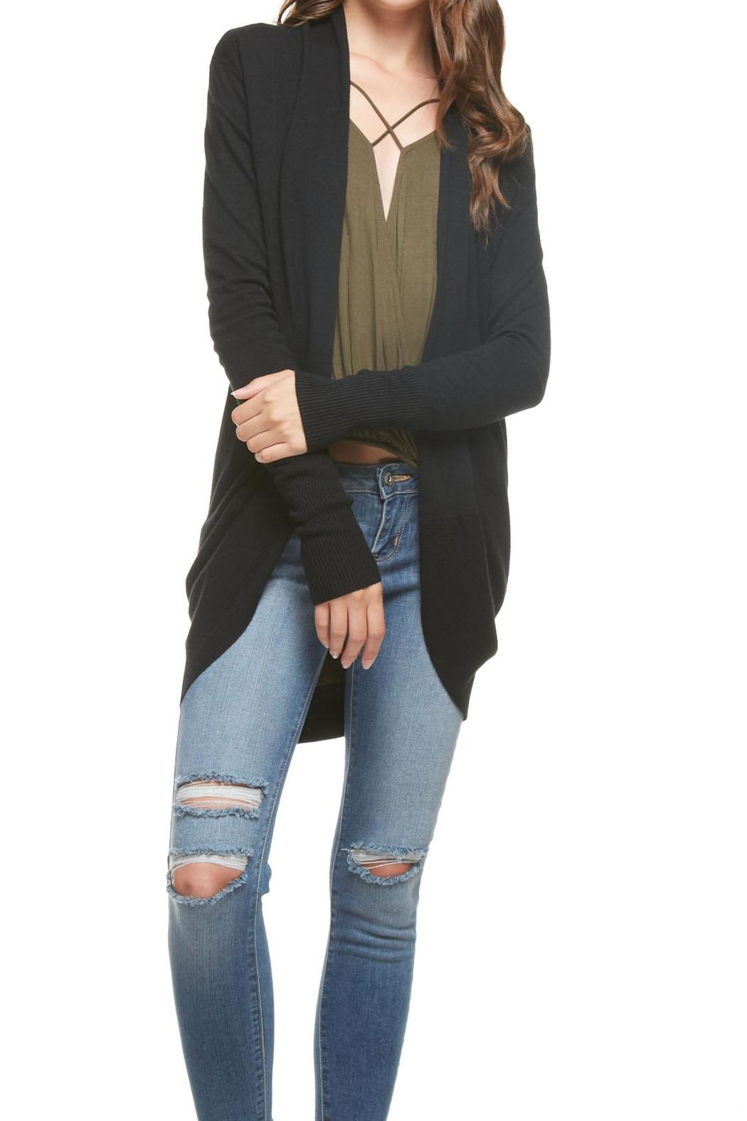 1365827856814 Dreamers Black Cardigan from Kansas by Apricot Lane - Wichita ...