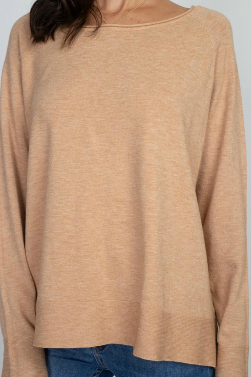 Dreamers Casual Longsleeve Sweater - Side Cropped Image