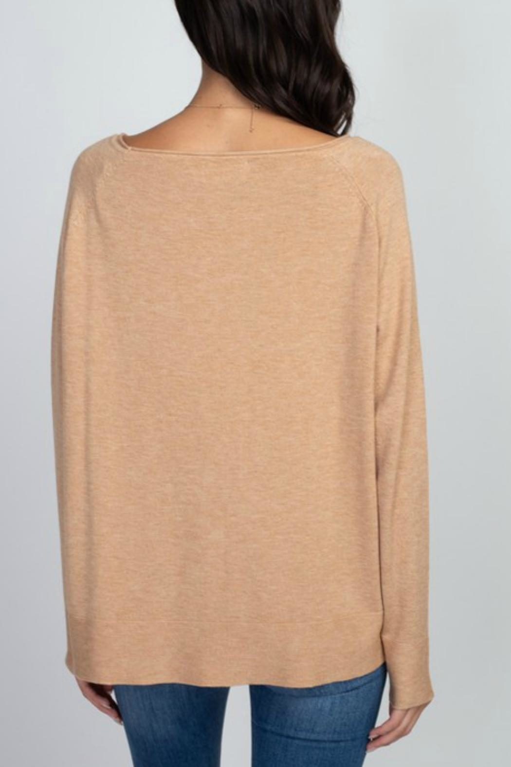 Dreamers Casual Longsleeve Sweater - Front Full Image