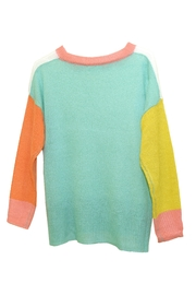 Dreamers Color-Block Knit Sweater - Front full body