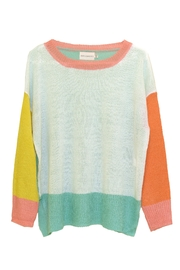Dreamers Color-Block Knit Sweater - Product Mini Image