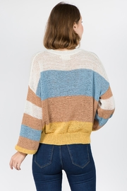 Dreamers Color Blocked Sweater - Front full body
