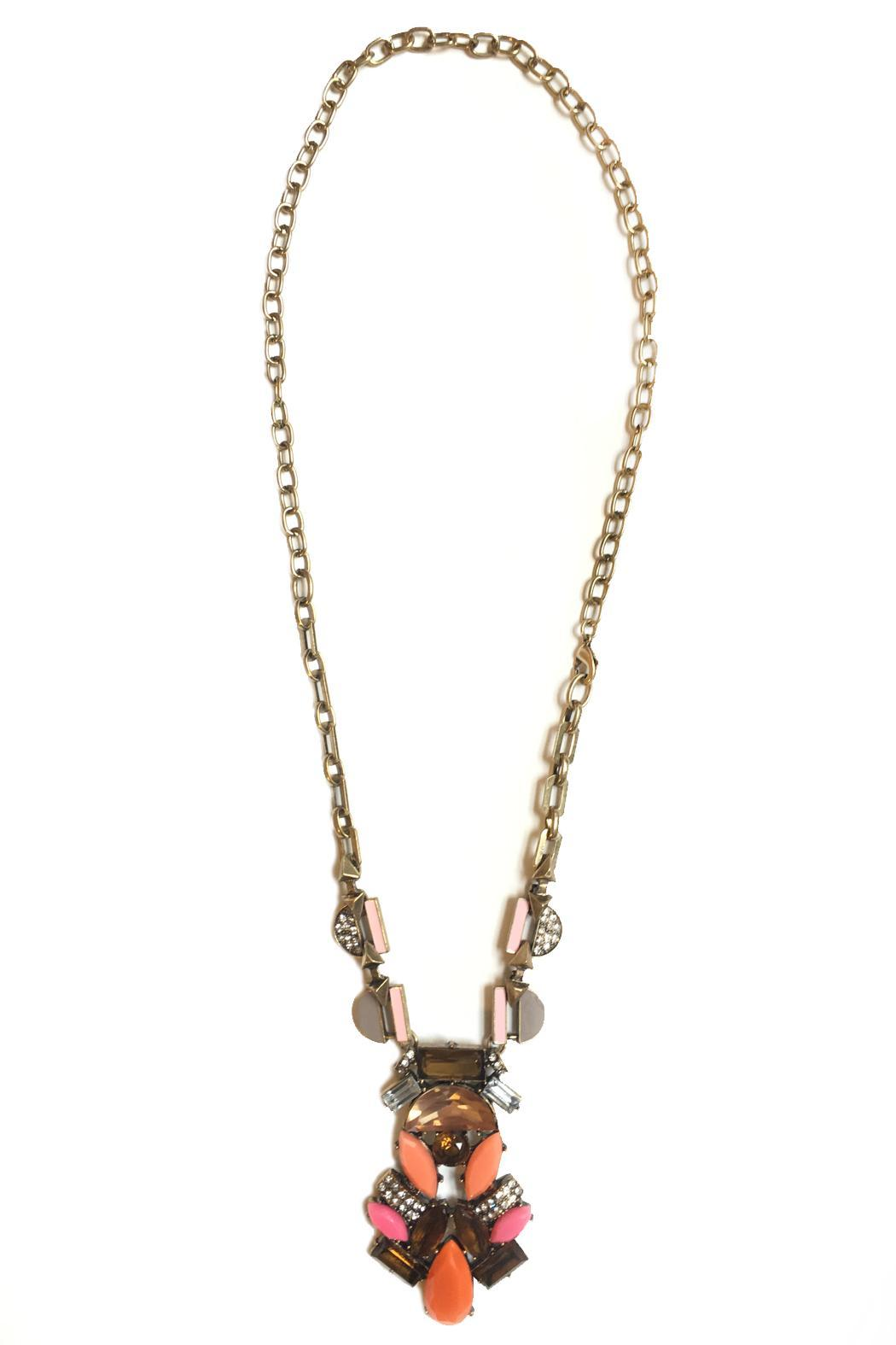 Dreamers Deco Statement Necklace - Main Image